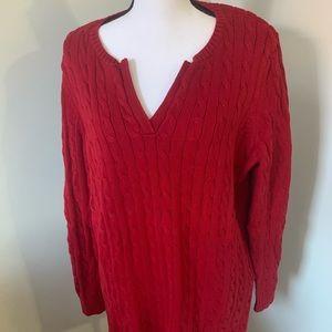 Lauren Ralph Lauren red sweater
